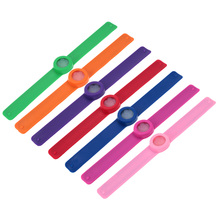 Infused Lemongrass Citronella Cool Design Mosquito Repellent Slap Bracelet Wristband Baby Anti-Mosquitoes Killer Repelling Ring(China (Mainland))