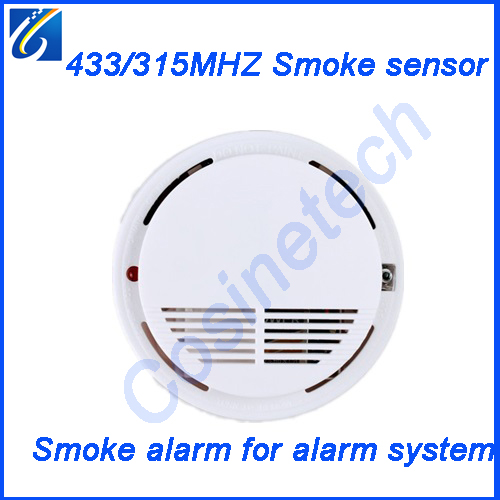 matching home alarm system 433MHZ wireless smoke sensor,smoke detector,fire alarm sensor, smoke sensor for security alarm system<br><br>Aliexpress