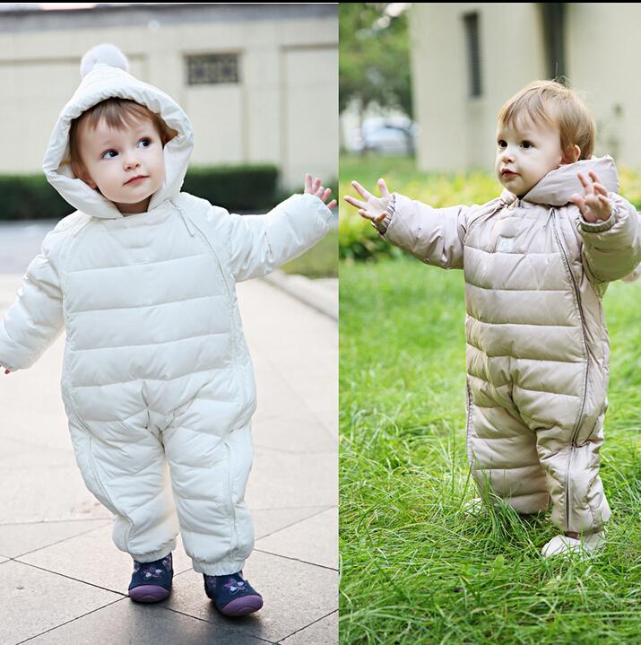 Гаджет  Hot sale ! 2014 Baby thermal overalls Winter jecket snowsuit duck down jumpsuit  outerward dress ware,toddler boy winter coat None Детские товары