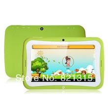 DHL freeshipping Kids Tablet PC Children Education 7inch Dual Core RK3028 Android 4.2 Bluetooth 1GB RAM 8GB ROM Kids Games Apps