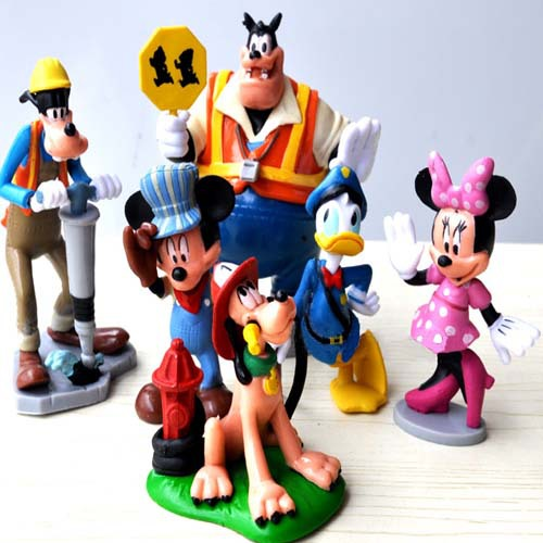 Cartoon Mickey Minnie Mouse Clubhouse Figurines Boys Plastic Toys Anime Action Figures Kids Girls Baby Toy Gift - Store store