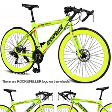 21 speeds road bike Double disc brakes absorption variable 26 bicycle specializ road bike 60mm wheels 700c light racing frame(China (Mainland))