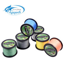Agepoch 500m Braided Multifilament Super Power Pe Fishing Line Rope The Peche Spearfishing Cord Wire Peche Carp Winter Thread 4