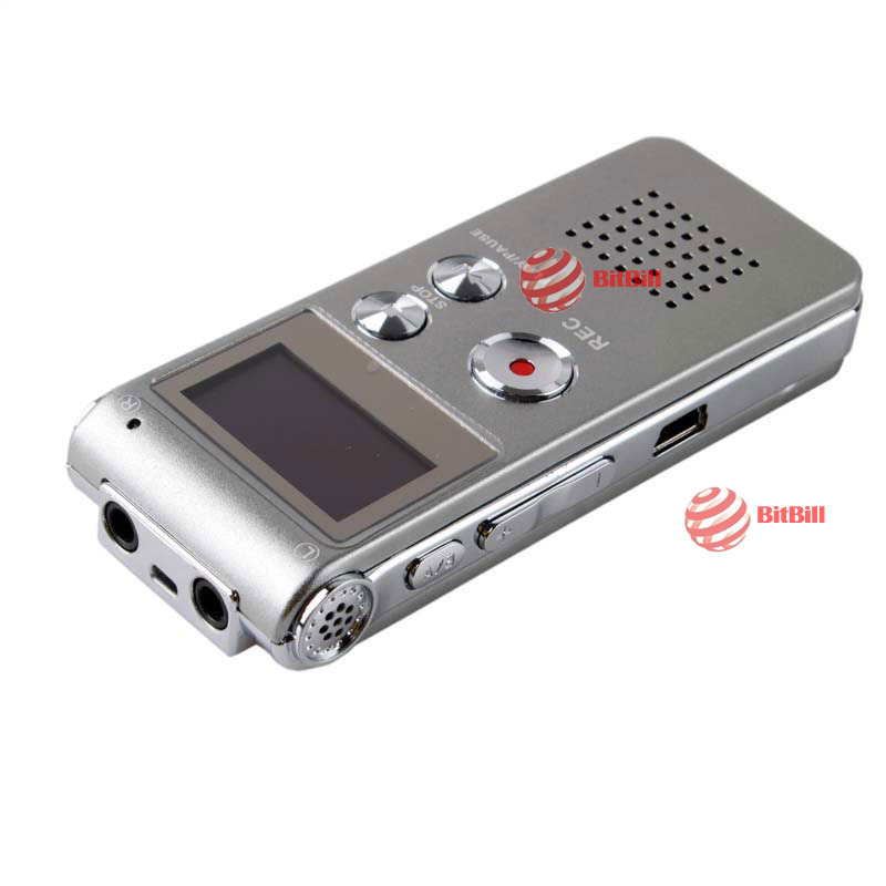 bitbill original barnd Rechargeable USB 8GB Digital Audio Voice Recorder Dictaphone MP3 Player GH-609 best choice(China (Mainland))