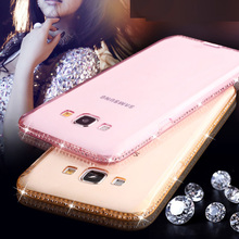 Buy Luxury Bling Diamond Transparent Case Samsung Galaxy A3 A5 A7 2017 2016 S6 S7 Edge J5 J7 2016 S8 Plus Cover Silicone Capa for $2.39 in AliExpress store