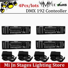 Buy Wholesale 4pcs/lots 192 DMX controller stage lighting DJ equipment dmx console led par moving head spotlights dj controller for $170.00 in AliExpress store