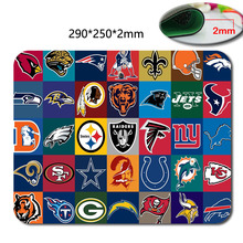 Professional custom Quick printing New Arrival 2016 Discount NFL Team Logo Baltimore Ravens Gaming Accessory Mouse Pad/Mat(China (Mainland))