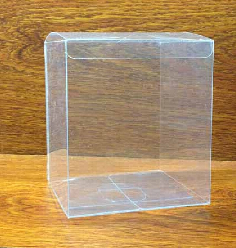 10*10*10cm Clear/Transparent Plastic PVC Box . Chokelate package . Jewelry Display packages(China (Mainland))