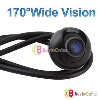 Elegant Design 170 degree Wide Vision Car Rear View Reverse Backup Rotation HD Camera  [20949|01|01]