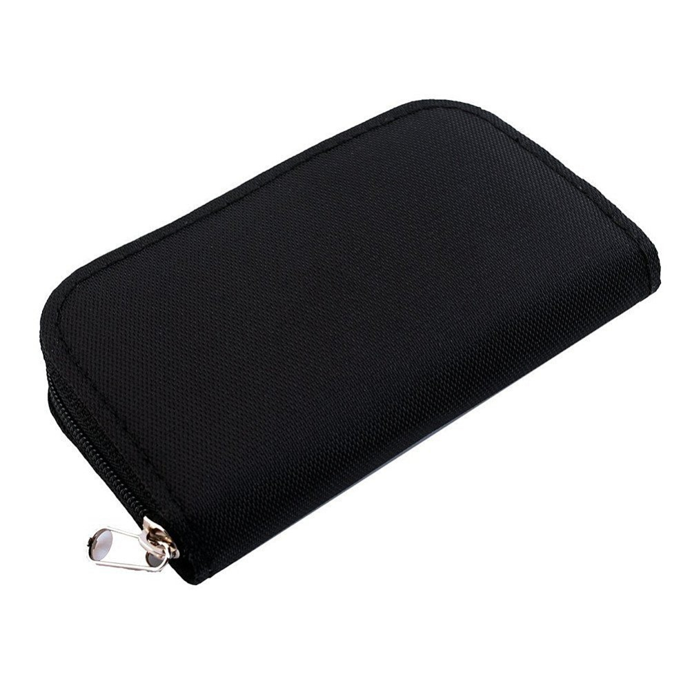 22 Slots SD SDHC MMC CF Micro SD Memory Card Storage Carrying Pouch Bag Case Holder Wallet(China (Mainland))