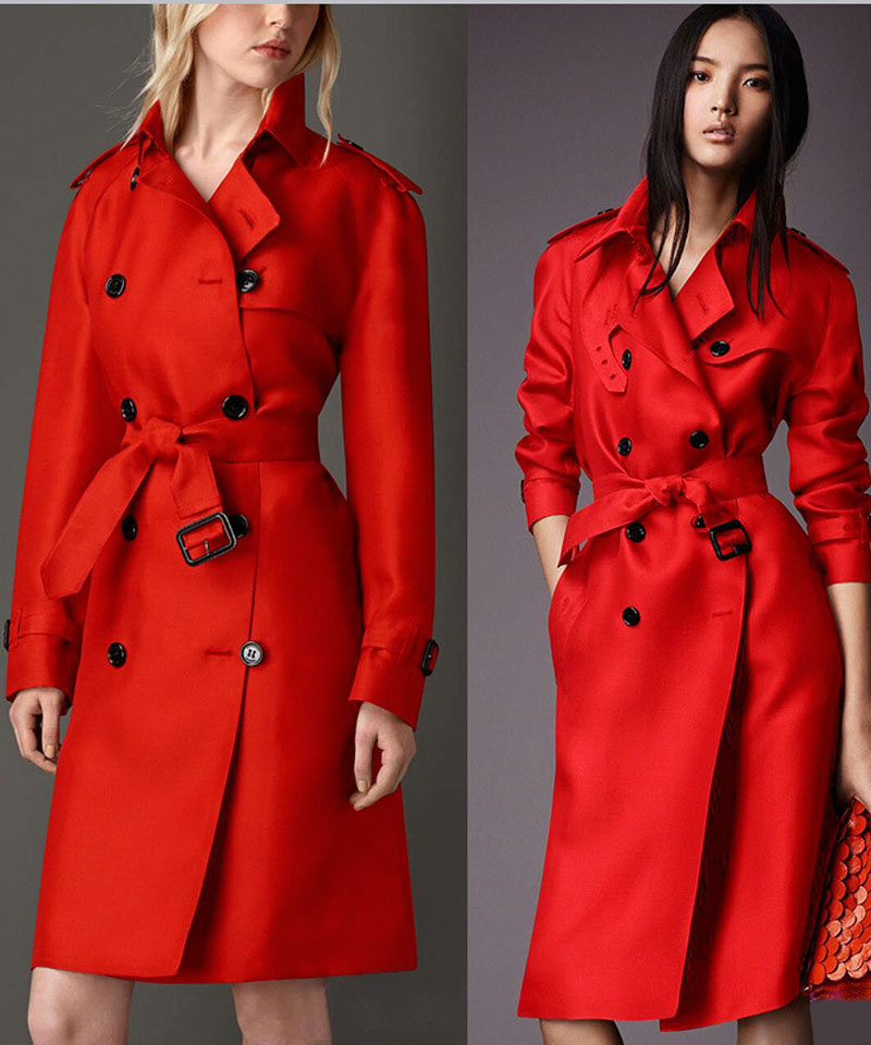 Red Trench Coat Re Re - Red Trench Coat
