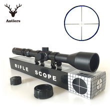 Air rifle scope Telescope 3-7X28 Hunting Scope With Mounts Lens Caps For recreational target shooting(China (Mainland))