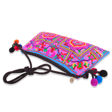 Women Bag Trend Boho Embroidered Floral Bags Shoulder Messenger Vintage Handbag Gifts New Arrival