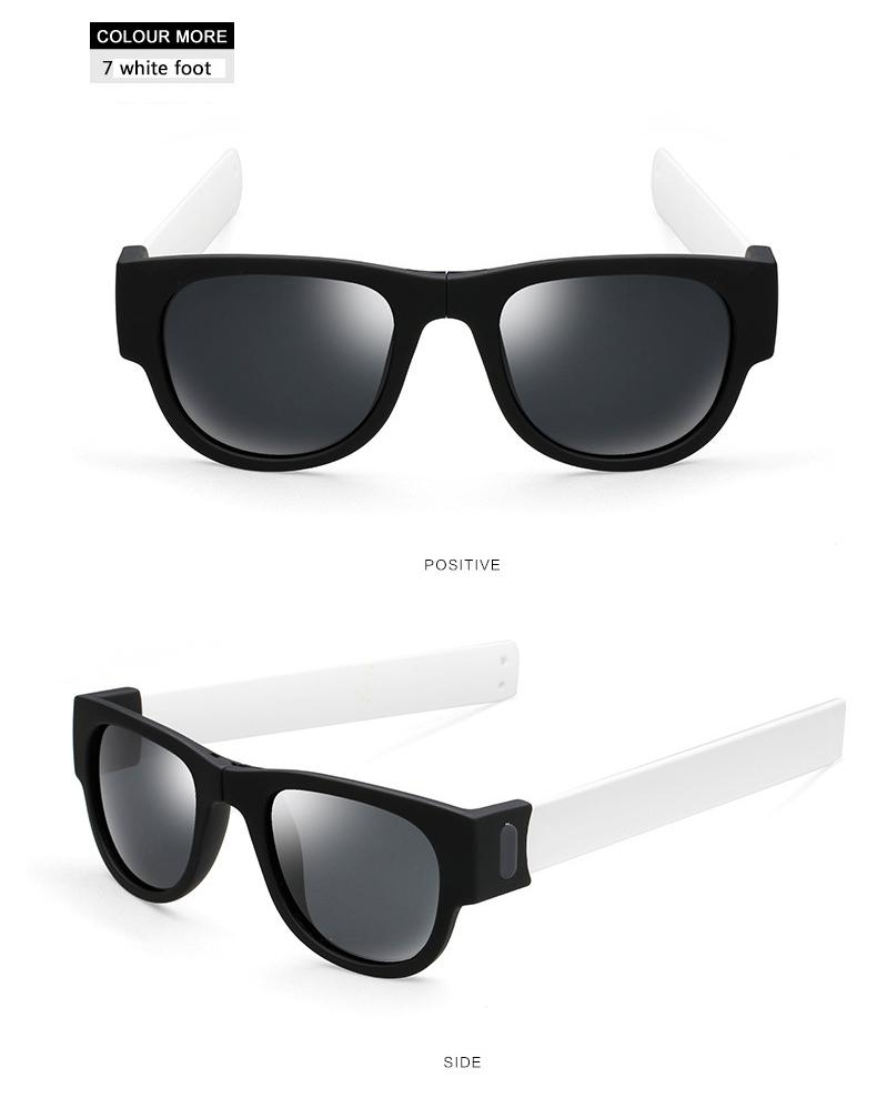 XINFEITE 2018 Fashion Unisex Folding Colorful Sunglasses Men And Female Brand Papa Novelty Polarized Sun Glasses Aviator Oculos