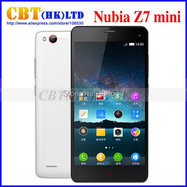 "ZTE Nubia Z7 mini lte 4G FDD Phone Qualcomm MSM8974AA 2.0GHz 5.0"" FHD 1920x1080 2GB RAM13.0MP Camera WCDMA Dual SIM in stock(Hong Kong)"