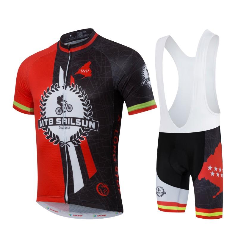 high quality SAIL SUN hort sleeve cycling jersey and bicycle kits Quick-Dry Man or woman road mtb cycling clothing(China (Mainland))