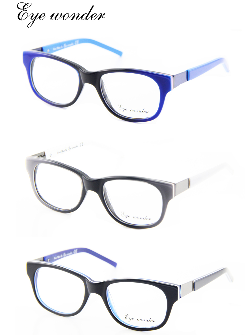 Blue Black Glasses Frames : Gallery For > Blue And Black Glasses Frames