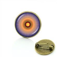 TAFREE Squisito stella della vita spille pins Diabetici Medical Alert Dentista Medico distintivo delle donne yoga mandala gioielli T807(China)
