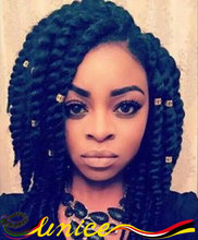 Wholesale Price African American Braids Short Length 12″ 3packs Per Lot Senegalese Twist Hair Extensions Popular Hair Piece