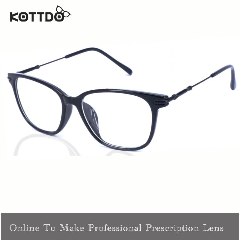 Metal Frame Glasses Men Eyeglasses Women Optical Eye Glasses Frame Myopic Frame Make Prescription Glasses Oculos de grau gafas(China (Mainland))