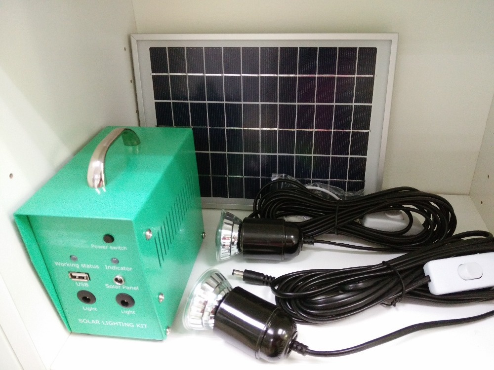 5w solar power system 18v dc input portable solar lighting - Solar air heater portable interior exterior ...
