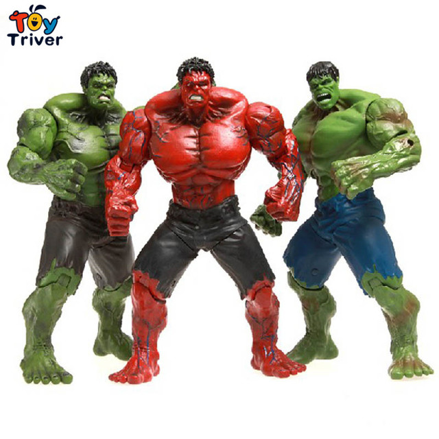"Red Hulk 10"" Action Figure The Avengers PVC Figure Toy ..."