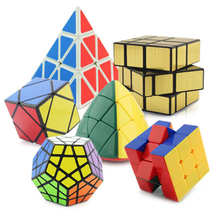 Neo Cube Magic Set Cubos Magicos Magic Cube Mirror Cube Games Puzzle Neocube Balls Funny Kids Toys For Children Plastic 50K277(China (Mainland))