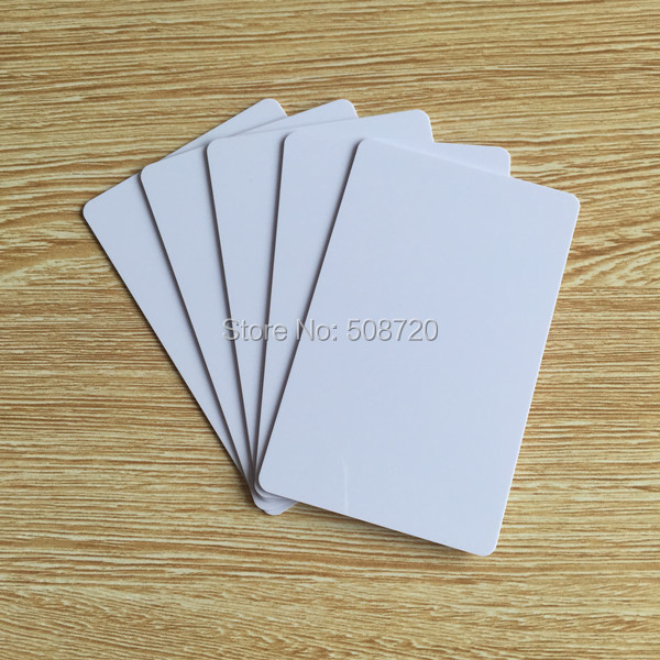 125khz writable rewrite blank white t5577 rfid card,rfid key card,hotel key card(China (Mainland))