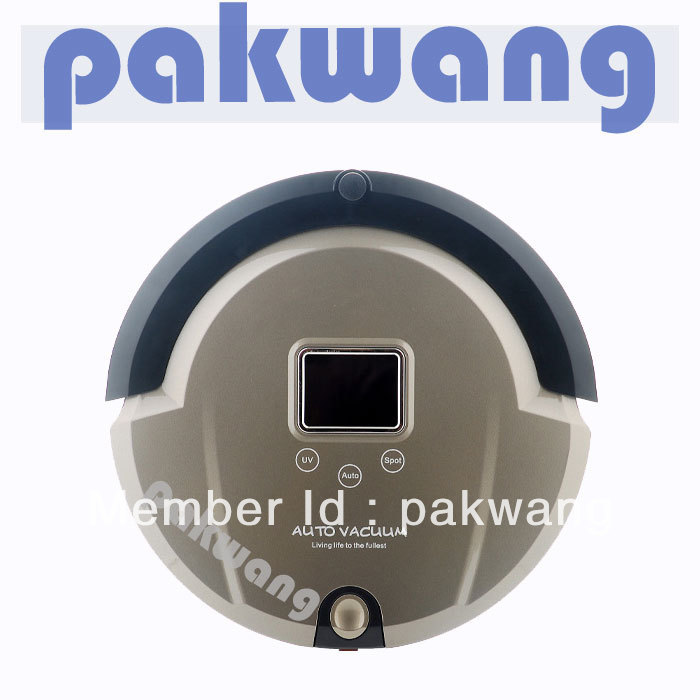 (Free  to the world ) Sweep,Vacuum, Mop, UV Sterilize LCD Display,Touch Screen Multifunctional Robot Vacuum Cleaner