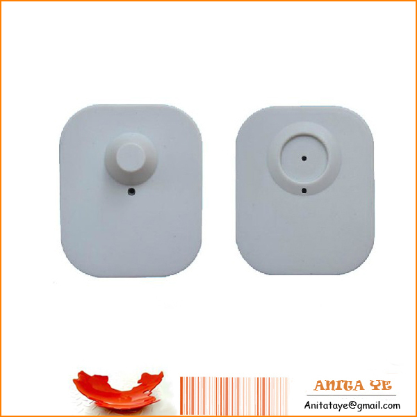 Square mini security tag for clothes(China (Mainland))