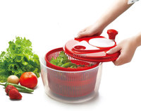 1 piece vegetable washer, swing salad spinner