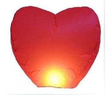 Fashion Sky Lanterns Wishing Lamp Sky Chinese Lanterns Birthday Wedding Party  Oval  Heart Shape  Free Shipping A056