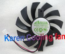 graphics card fan APISTEK GA81S2U -NNTB diameter 75mm DC12V 0.38A