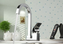 92281 Construction & Real Estate Modern Hot & Cold Device Swivel Kitchen Sink & Bathroom Basin Mixer Tap Faucet