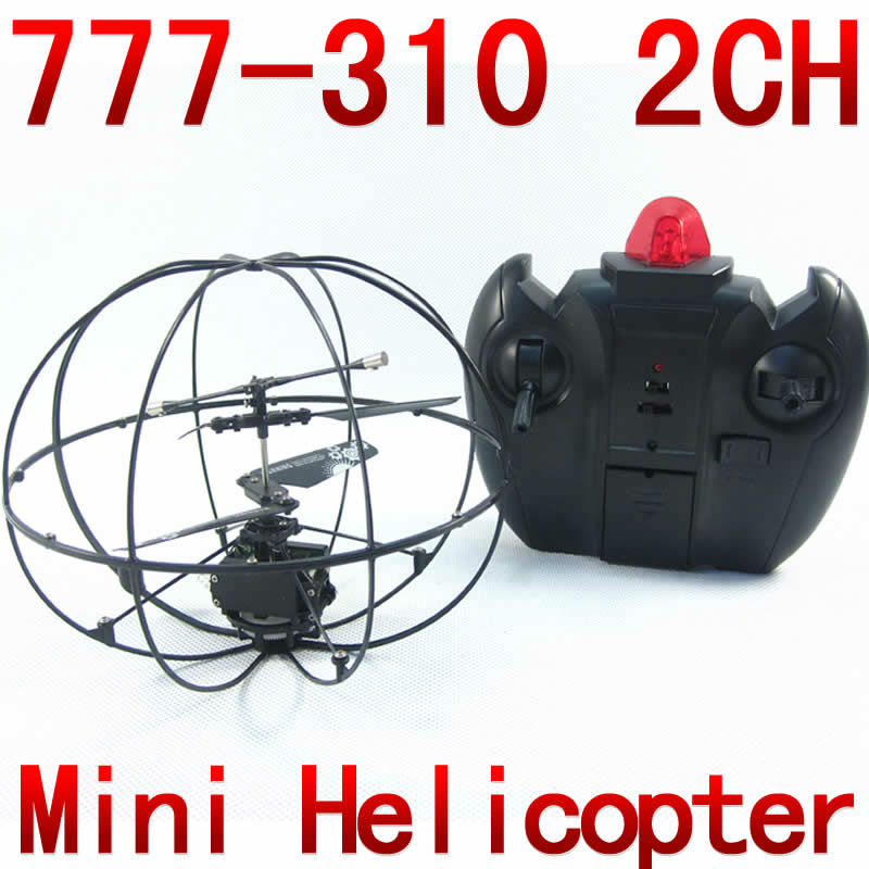 2CH gyro RC Mini Helicopter UFO aircraft Remote control fly ball 777-310 NSWB(China (Mainland))
