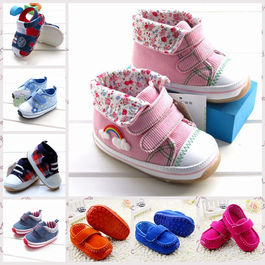 Baby Boy Style bebe Sapatos,infant Baby Boys sneakers, rubber sole kids Shoes For First Walkers Size 12-14.5 cm R1105(China (Mainland))