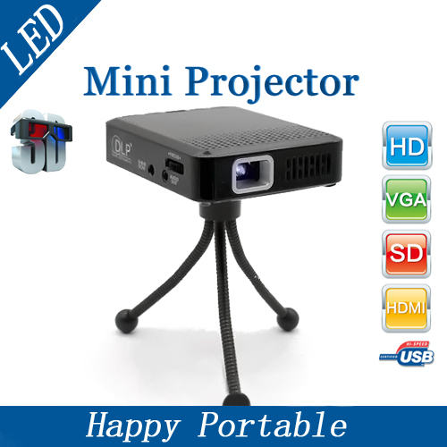 Best price newest home theater hdmi usb 3d dlp mini 854 for Best wireless mini projector