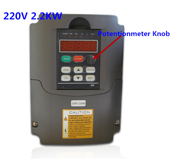 Variable Frequency Drive VFD Inverter 2.2KW 3HP 220V or 110VAC 2.2 kw inverter<br>
