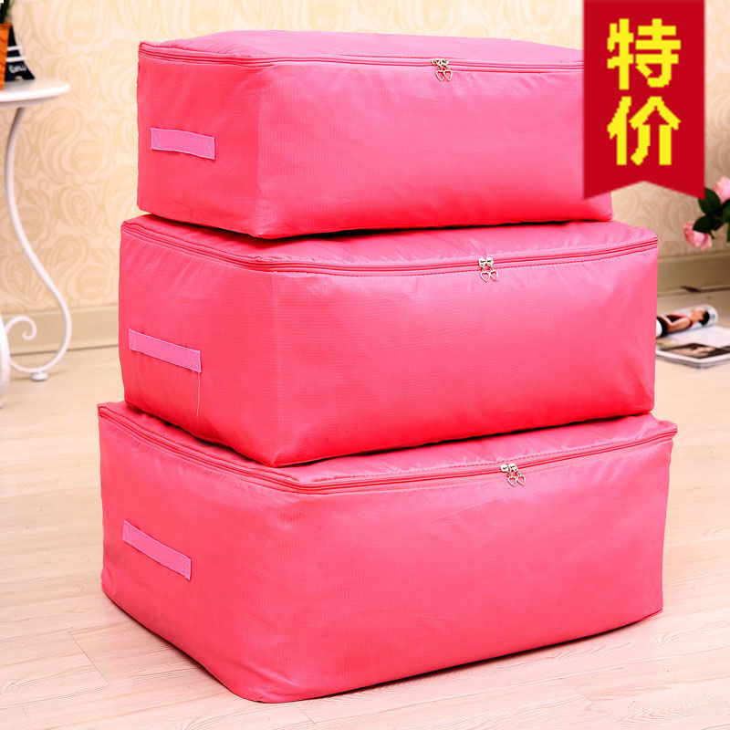 NEW Amazing Housekeeping Portable Clothing Organizer quilt Storage Bags For Blanket Pillow Free Shipping Wholesalers(China (Mainland))