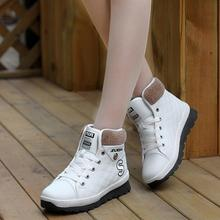 Warm Casual Shoes Women Snow Cotton Short Boots Thick Crust 5 Colors Black And White Solid Fashion Winter Boots chaussure femme(China (Mainland))