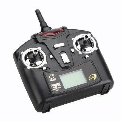WLtoys 4 CH 2.4Ghz LCD RC Transmitter Remote Control 4 Channel Mode 2 for V911 V929 V939 RC Helicopter Ladybird UFO F12136(China (Mainland))