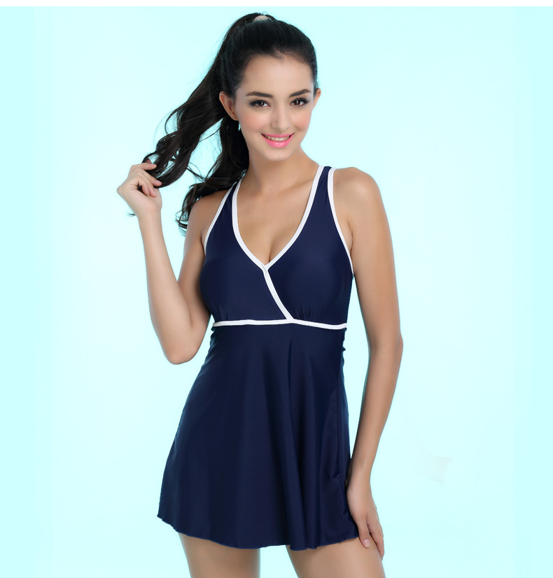 aliexpresscom buy m4xl women one piece swimsuit dress