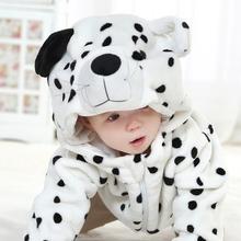 New Free Ship Dalmatian Baby Kigu Toddler Fleece Animal Winter Sweater Jacket