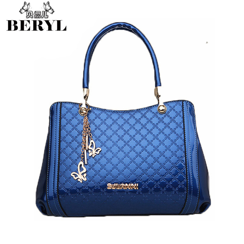 Chains Women's Totes Brand Leather Handbags Rhombic Shoulder Bags Noble Female Office Bag Casual Lady Tote Bolsos Mujer Sac #25(China (Mainland))