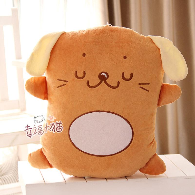 Pernycess 1pcs 50cm dog biscuits stuffed toy doll large backrest cushion / pillow(China (Mainland))