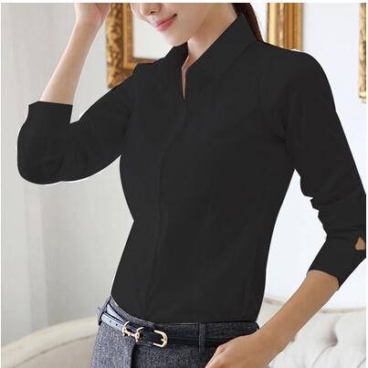 Womens Black Blouse Shirts
