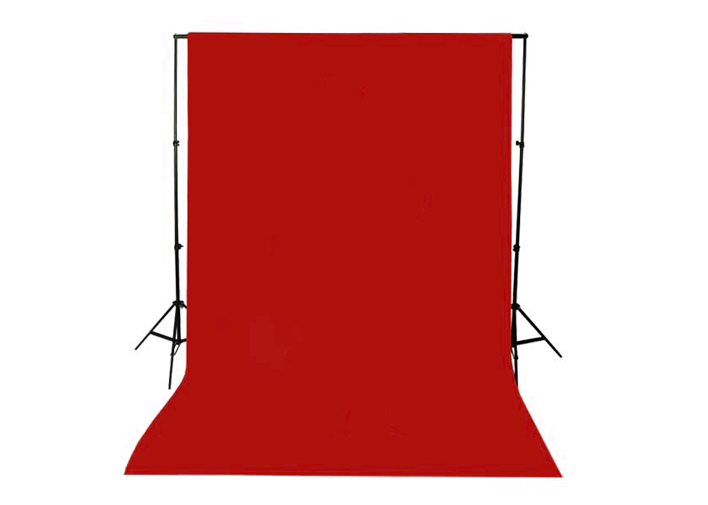 1.5x3m Red Non-woven fabric Photo Photography Backdrop Background Cloth 5x10ft(Hong Kong)