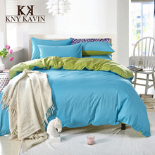 20 Colors 100% Cotton Bedding Sets New 2015 Home Duvet Cover Set High Quality Cotton Bedding Set Queen Size Free Shipping HBS049(China (Mainland))
