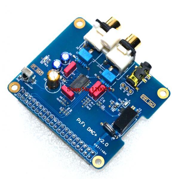 HIFI DAC Audio Sound Card Module I2S interface Raspberry pi B+,Raspberry Pi 2 Model B - A+A+A+ store