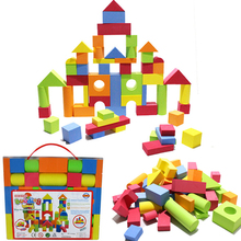 Baby Colorful Block Matching Sorting Geometry Shape Intelligence Building Blocks Assembled Model Educational Toy(China (Mainland))